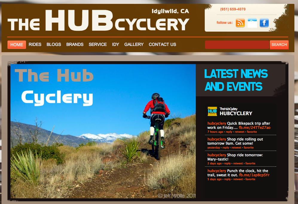 hub cyclery website